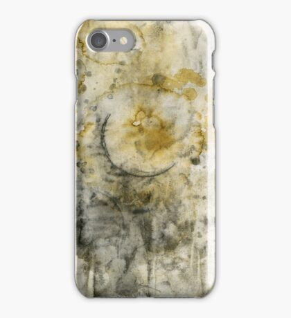 Black Pigment And Coffee iPhone Case/Skin