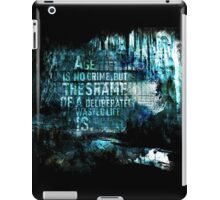 Age Is No Crime iPad Case/Skin