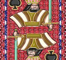 Art Gloss King of Spades by ronmockjunior