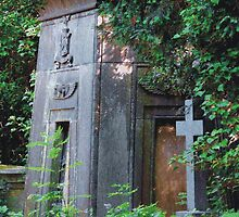 Highgate Cemetery Egyptian Mausoleum by himmstudios