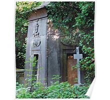 Highgate Cemetery Egyptian Mausoleum Poster