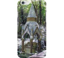Highgate Cemetery Scene 1 iPhone Case/Skin