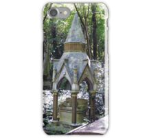 Highgate Cemetery Scene 1 iPhone Case/Skin