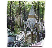 Highgate Cemetery Scene 1 Poster
