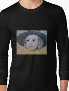 Cinnamon In Yellow Long Sleeve T-Shirt