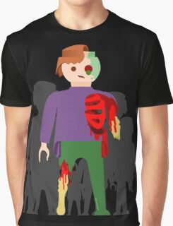 Zombies at Play Graphic T-Shirt