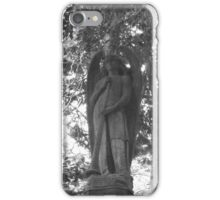 Highgate Cemetery Angel Gabriel iPhone Case/Skin