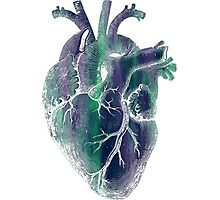 Heart - Space Photographic Print