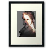 Hugh Dancy - Will Graham Sketch Framed Print