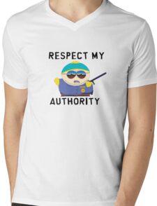 Respect Cartman Mens V-Neck T-Shirt