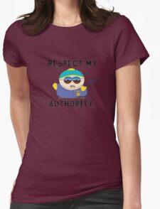 Respect Cartman Womens Fitted T-Shirt