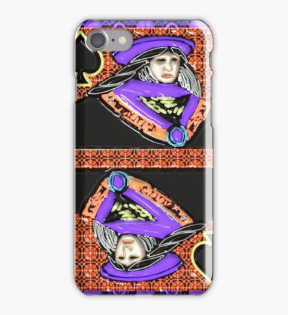 Art Gloss Queen of Spades iPhone Case/Skin