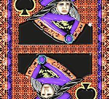 Art Gloss Queen of Spades by ronmockjunior