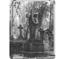 Highgate Cemetery Angel Cross iPad Case/Skin