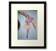 Fashion wonder woman Framed Print