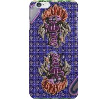 Art Gloss Queen of Hearts Blue Purple iPhone Case/Skin