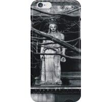 Gothic Angel Statue iPhone Case/Skin