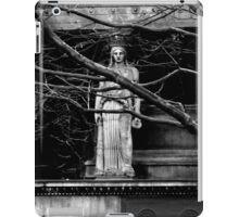 Gothic Angel Statue iPad Case/Skin