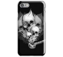 Faded Youth Smoke Skulls iPhone Case/Skin