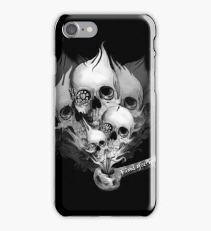 Faded Youth Smoke Skulls iPhone Case/Skin