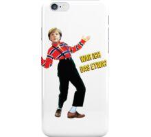 Merkel / Urkel (German) iPhone Case/Skin