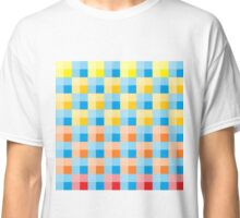 colourful checkered Classic T-Shirt