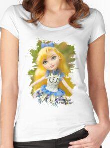 Blondie Lockes  Women's Fitted Scoop T-Shirt