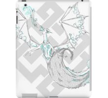 Water drenched dragon iPad Case/Skin