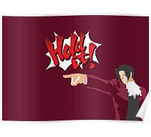 Ace Attorney Miles Edgeworth Poster