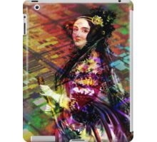 Ada Lovelace - Rainbow of Microchips iPad Case/Skin