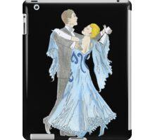Dancers -- Black iPad Case/Skin
