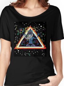 Trippy Triangle God Women's Relaxed Fit T-Shirt