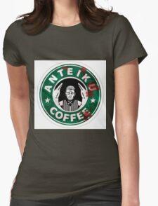 Anteiku Starbucks Yoshimura Logo Tokyo Ghoul Womens Fitted T-Shirt