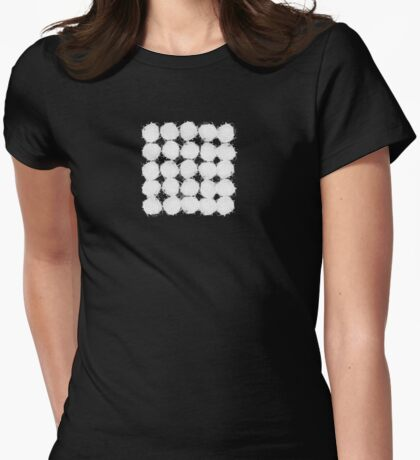 nesting Womens Fitted T-Shirt