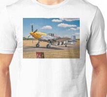 """P-51D Mustang 44-73149 G-BTCD """"Ferocious Frankie"""" Unisex T-Shirt"""
