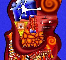 Versophomus V3 - abstract digital artwork by Cersatti