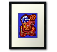 Versophomus V3 - abstract digital artwork Framed Print