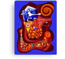 Versophomus V3 - abstract digital artwork Canvas Print