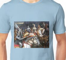 Afghan Hound Art Canvas Print - The swords and brave Unisex T-Shirt