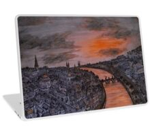 Sunset Cityscape Laptop Skin
