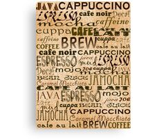 Coffee and Cream Canvas Print