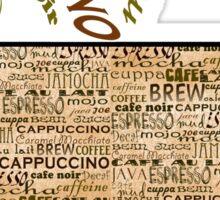 Coffee and Cream Sticker