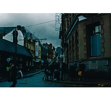 busy town Photographic Print