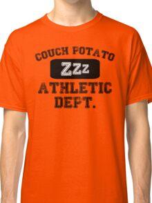 Couch Potato Athletic Dept Classic T-Shirt