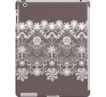 Elegant white lace iPad Case/Skin