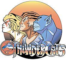 thundercats design t-shirt Photographic Print