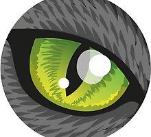 cat eye by Kopfzirkus