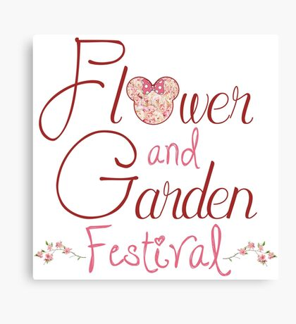 Epcot Flower and Garden Festival Canvas Print