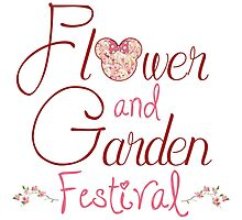 Epcot Flower and Garden Festival Photographic Print