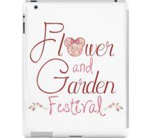 Epcot Flower and Garden Festival iPad Case/Skin